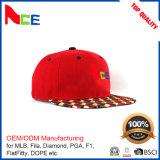 ODMの帽子の工場デジタル印刷のバイザーの女性のための赤い急な回復の帽子