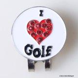 인공적인 다이아몬드 자석 골프 클립 마커