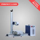 Laser-Markierungs-Gravierfräsmaschine der Faser-20W für Plastikmetall