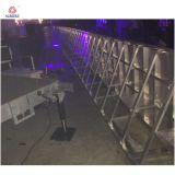 警察の障壁制御金属のバリケードの折るバリケード
