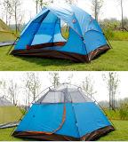 خارجيّة 3-4 شخص خيمة, جلد مزدوجة مسيكة شاطئ خيمة