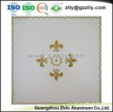 Revestimento do Teto decorativa da moda de tecto em alumínio de impressão