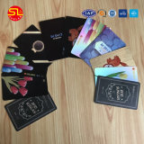 Cartes en plastique bon marché, carte de PVC, machine d'impression transparente de carte de visite professionnelle de visite