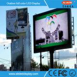 Placa fixa do sinal do diodo emissor de luz da instalação P10 para o anúncio ao ar livre