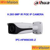 Dahua防水H. 265 6MP IRの弾丸Poe IPのカメラIpcHfw8630e Z