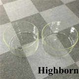 Tamaño grande vaso de precipitados de vidrio de borosilicato transparente