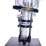 Hb-3L revestido del Reactor de vidrio/Reactor de vidrio de doble capa de baño con calefacción y el chiller