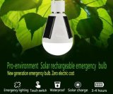 Bombilla solar Emergency recargable 7W, 9W, 12W del LED