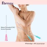 Elevador de rosca Facelifting Dop Gold sutura Absorable Rosca de elevação