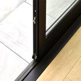 Popular y moderno diseño interior de la puerta corrediza de aluminio puertas ventanas