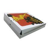 Rectángulo de empaquetado impreso aduana de la cartulina para el rectángulo de la pizza
