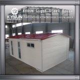 Casa rápida da instalação do recipiente pré-fabricado para dormitórios