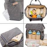 Многофункциональный Unisex мешок младенца мумии Backpack пеленки с изменяя пусковой площадкой