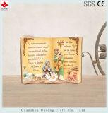 Los religiosos de resina de la Figurilla Diseño de libros de decoración religiosa