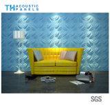 Comitato di parete acustico decorativo 3D della fibra di poliestere del materiale da costruzione/comitato di soffitto