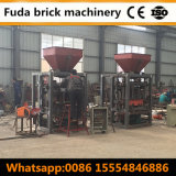 Machine de fabrication de brique de verrouillage semi automatique de machine à paver de la Chine au Soudan