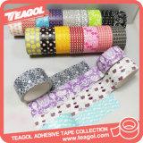 カスタム防水装飾的な付着力の印刷された布ダクトテープ