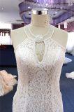 Сексуальный Mermaid шнурка способа отбортовывая платье венчания вечера Bridal