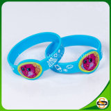 Nuovo Wristband del silicone di marchio di stampa di disegno per i bambini