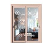 Гуандун гриль дизайн из стекла боковой сдвижной двери с заводская цена