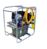 Pompa idraulica elettrica di forza idraulica dell'unità ad alta pressione del pacchetto per la pompa della chiave 220V Enerpac