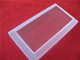 Glace personnalisée de quartz de plaque de quartz transparent avec des opérations