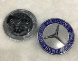 Divisa de encargo de la insignia de los capos del cromo del coche para Mercedes