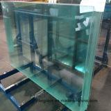 Vidro temperado cristal empurrador para Piscinas