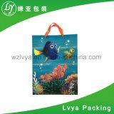 Comercio al por mayor de moda personalizada hermosas Shopping Bag, bolsas de papel negro