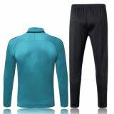 17-18 nuevas chaquetas de trajes de la pista de fútbol personalizadas