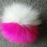 Шарм мешка Pompom шерсти фальшивки шарика шерсти высокого качества имитационный