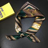 Berufsdigital gedruckter Maulbeere-Seide Schal/Hijab für Frauen/Damen
