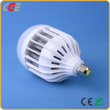 Ahorro de energía de alta potencia 15W 18W 24W 36W Bombilla LED lámpara de plástico