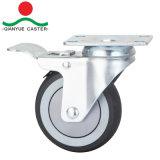 Haut Grade de roulettes pour charges moyennes, TPR Roulette de frein