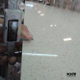最もよい価格の床タイルの極度の白い人工的な水晶タイル