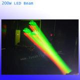 LEIDENE van de straal 200W Bewegende HoofdVerlichting