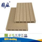 Scheda Grooved esterna di Decking del giardino di plastica di legno del composto WPC