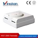 Weißer mechanischer Raum-Thermostat für Fußboden-Heizung (WST-2000)