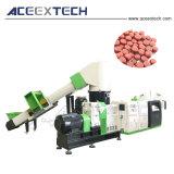 粒状になる及びPPによって編まれる袋のペレタイジングを施す及びHDPEプラスチックLDPE/PE/BOPPのフィルムは餌機械のリサイクルを研ぎ直す