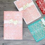Custom Пригласительные карты бумаги поздравительные открытки печать