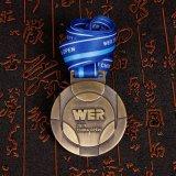 リボンが付いている安いカスタムWerメダルイベント賞メダル