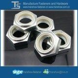 Écrou de blocage en nylon d'hexa de garniture intérieure