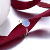 Manier 925 de Echte Zilveren Kunstmatige Juwelen van de Vrouwen van de Ring van de Diamant