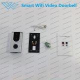 Construit dans la sonnette visuelle de câble de WiFi sec sonore de PIR avec l'appareil-photo pour le smartphone