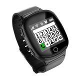 Entendre le téléphone aîné intelligent de montre de la détection SOS GPS de taux