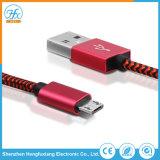 5V/2.1A 마이크로 USB 데이터 비용을 부과 케이블을 인쇄하는 주문을 받아서 만들어진 로고