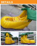 子供のための家および靴の膨脹可能なスライド