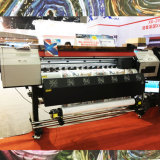 máquina X6-2000xs de Sublimationprinting de la impresora del 1.8m Xuli con la pista/2.5pl de 3PCS Xaar 1201