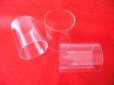 Tube clair protégé par fusible élevé de pipe en verre de quartz