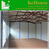 Casas pré-fabricadas instaladas fáceis para a escola